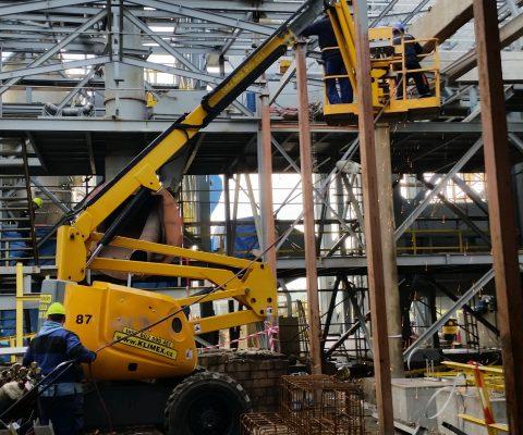 Demontáž ocelové konstrukce