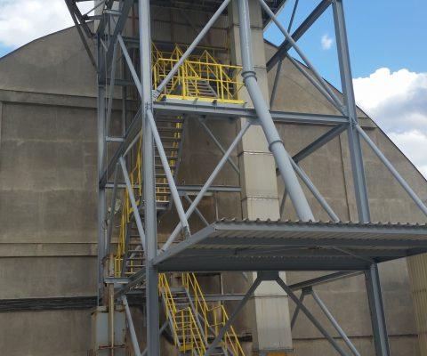 Oprava ocelové konstrukce