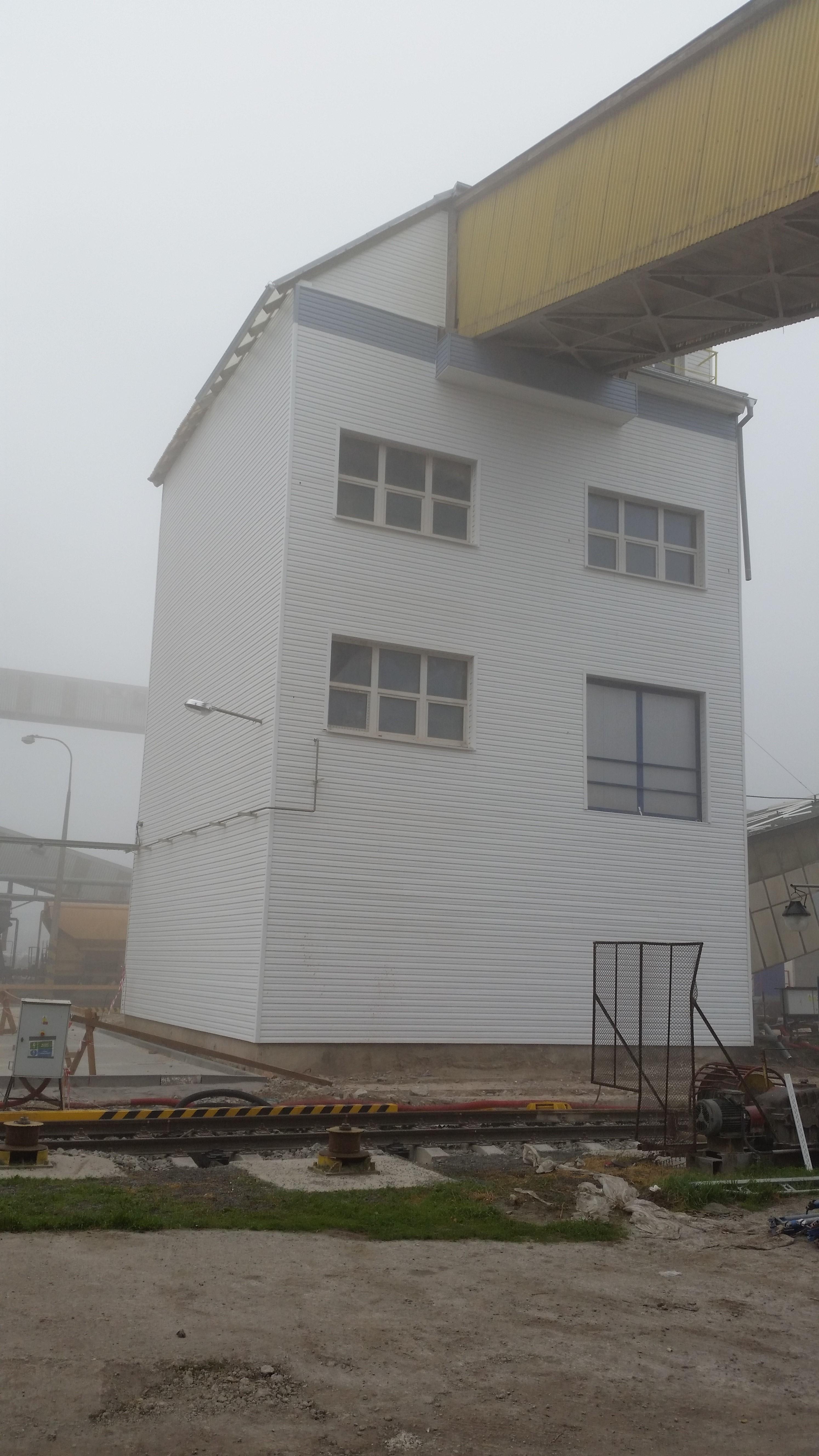 Opláštění průmyslových budov