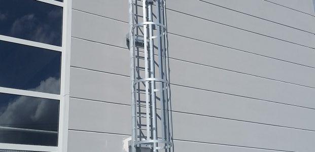 Výroba a montáž požárních žebříků